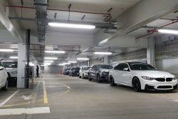 IP66 MW LED Batten application in car park
